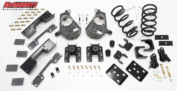 """MCG34035 4""""/6"""" Deluxe Kit for 2007-2013 GM Truck 1500 (2WD, S-CAB)"""