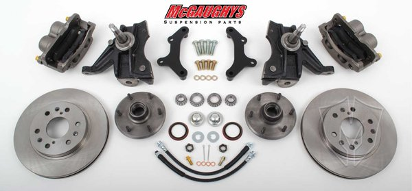MCG33300 1973-87 C-10 13 Front Disc Kit w/2.5 Spindles (6 LUG) must use 17 + rims