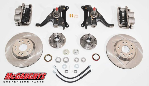 "MCG93124 13"" Big Brake Kit 82-03 S10 13"" Front Disc Kit w/ 2"" spindles (5 on 4.75) **must use 17""+ rims**"