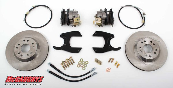 "MCG64200 13"" Rear Disc Brake Kit for factory 12 bolt rear-end (5x4.75, Smooth)"
