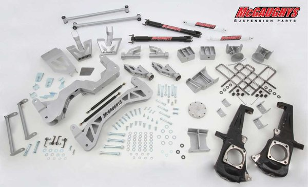 "MCG52350 7"" Premium Lift Kit for 2011-2016 GM 2500 (4WD)"