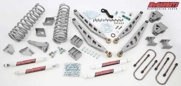 """MCG54350 8"""" Premium Lift Kit for 2003-2008 Dodge Ram 2500/3500 (4WD, Diesel Motor)"""