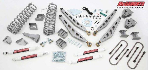 """MCG54950 8"""" Premium Lift Kit for 09-13 Dodge Ram 2500 / 09-12 3500 (4WD, Diesel Motor)"""
