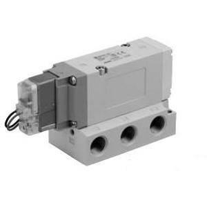 SMC VF5000, 5 Port Solenoid Valve, Rubber Seal, Metric VF5120-5G-02