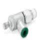 """NUMINB136C-308-021 Knob Adjust Flow Control 3/8""""ptc 1/4""""npt"""