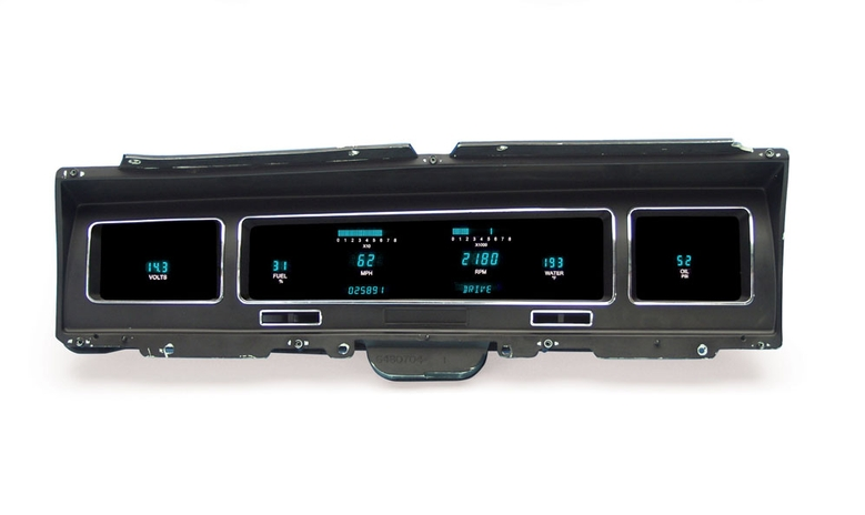 DAKVFD3-68C-IMP 1968 Impala/Caprice Digital Instrument system