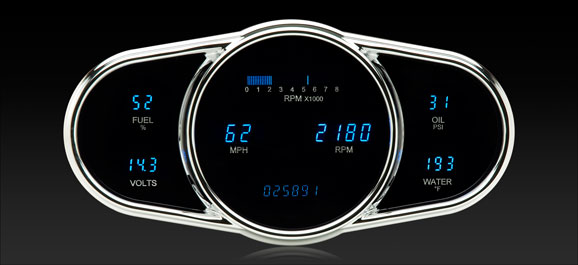 DAKVFD3-1009 6 Gauge Universal Elliptical Designer Series