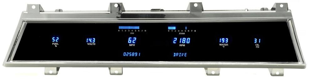 DAKVFD3-66C-CVL 66-67 Chevy Chevelle/ El Camino Digital Instrument System