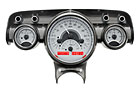 DAKVHX-57C-S/S-R 1957 Chevy Bell-Air gauge system with Silver/Red display