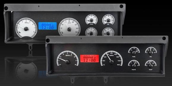 DAKVHX-70C-MAL-C-B 70-72 Chevy Malibu/non SS Chevelle/El Camino VHX Instruments