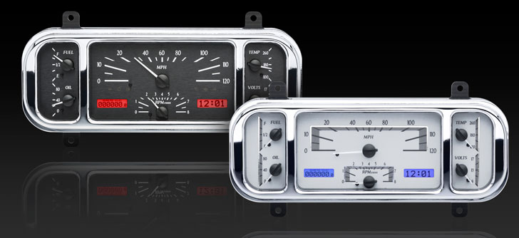 DAKVHX-37C 37-38 Chevy Car VHX Instrument Display