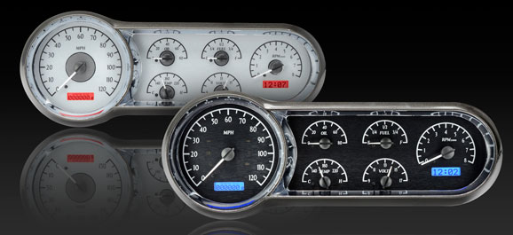 DAKVHX-53C 1953-54 Chevy Car VHX Instrument Display