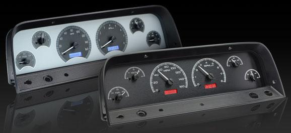 DAKVHX-64C-VHX-PU 64-66 Chevy Pickup VHX Instruments