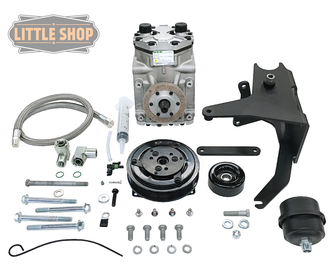 LSMFG-Vortec-EDC 96'-07' GM 4.3, 5.0, 5.7 Vortec Engine Driven Compressor Kit
