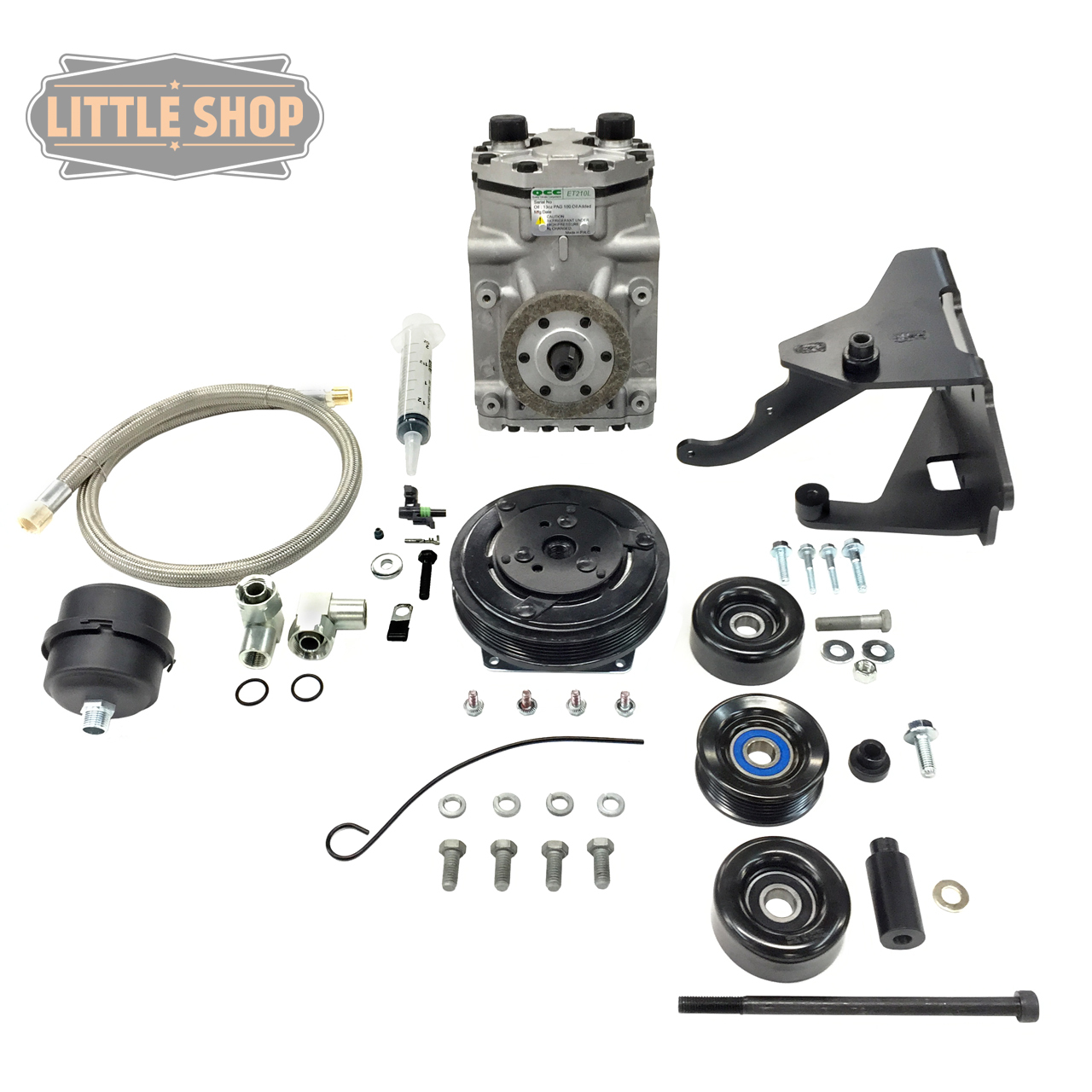 LSMFG-LT-EDC 14'-UP GM 5.3, 6.2 LT Engine Driven Compressor Kit