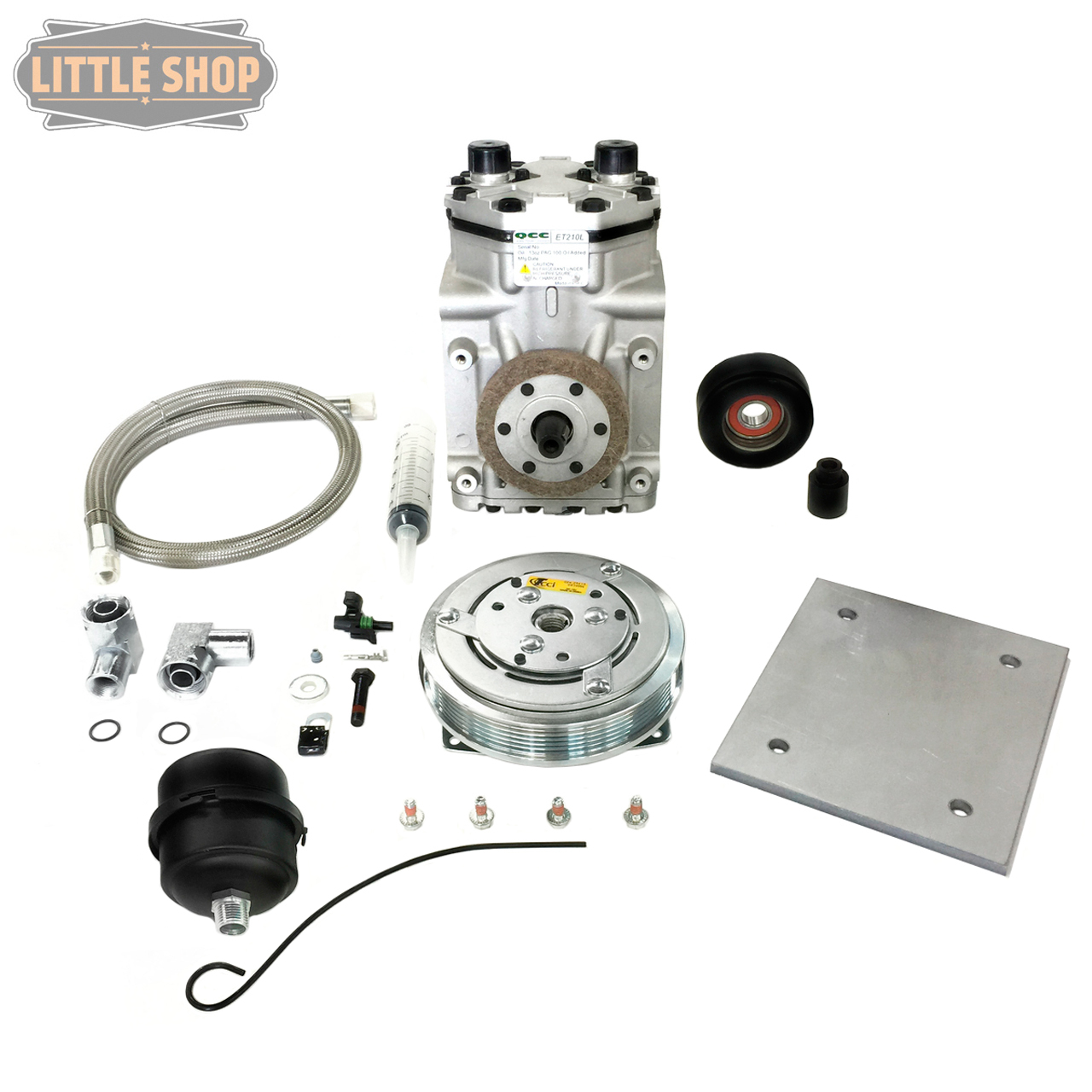 LSMFG-UnivEDC D.I.Y. Engine Driven Compressor Kit