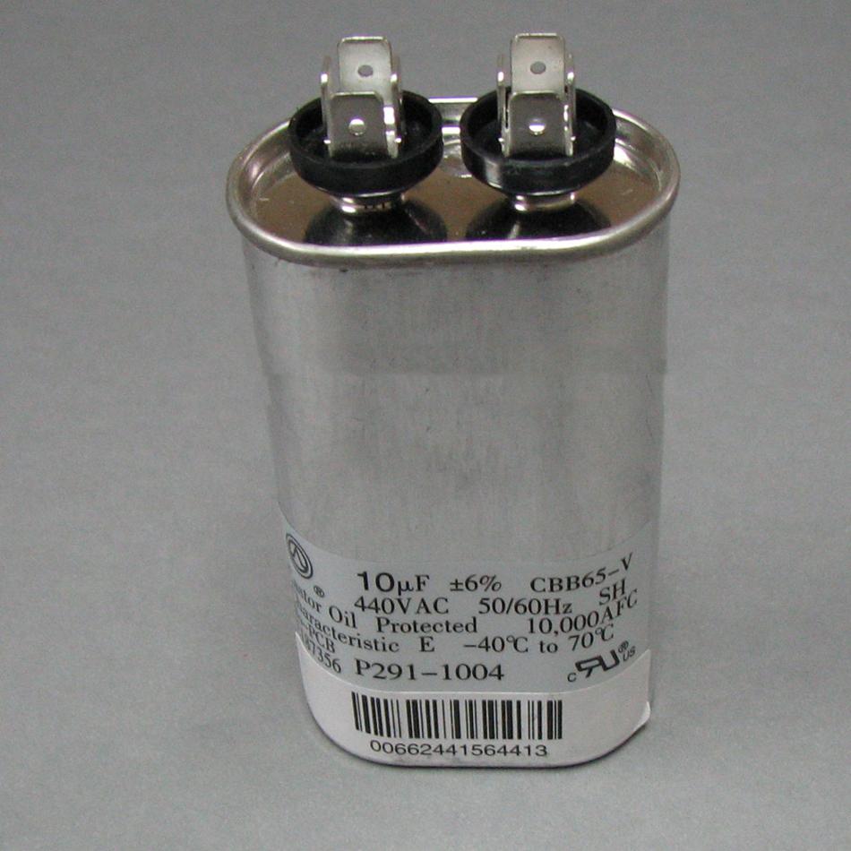 In Stock Trane Cpt00088 440v 10 Mfd Oval Run Capacitor