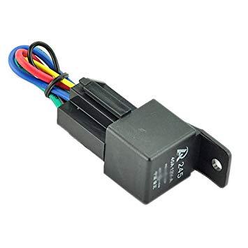 LRD Relay & Socket 12V-40 Amp