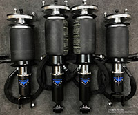 UVAIR11-S-Honda-Civic-8891 Universal Air 88'-91' Honda Civic EF Solution Series Air Struts (4) Sleeve