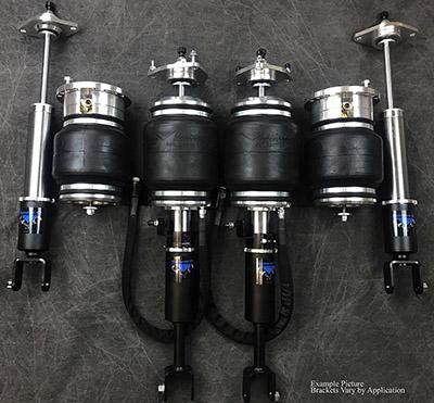 UVAIR11-S-Infiniti-G35Sedan-0708-RW D Universal Air 07'-08' Infiniti G35 Sendan RWD V36 Solution Series Air Struts (2) Sleeve (2) AH2