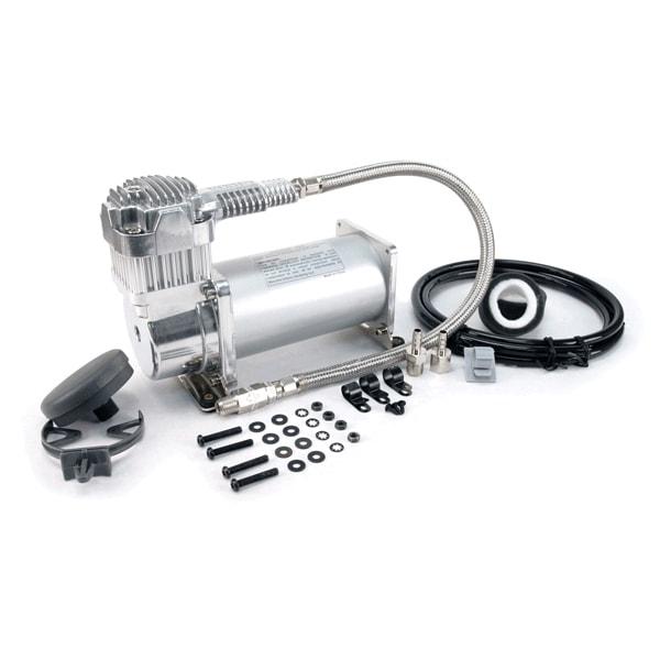 VIA40040 Viair 400C CHROME Compressor 33% Duty Cycle @200psi